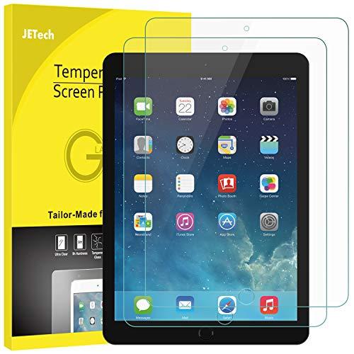 JETech Screen Protector for iPad Mini 1 2 3 (Not Mini 4), Tempered Glass Film, 2-Pack (Mini Apple Ipad Screen Protector)