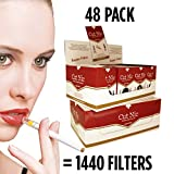 Cut-Nic Disposable Cigarette Filters 48 Packs Wholesale (Total 1440 Filters)