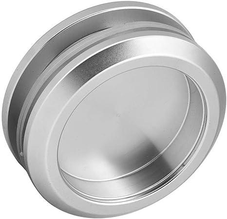 Botón redondo del tirón del tirador de la puerta de cristal de la ducha de la manija del cuarto de baño de la aleación de aluminio para la puerta deslizante: Amazon.es: Bricolaje