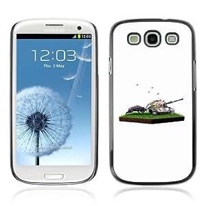 Designer Depo Hard Protection Case for Samsung Galaxy S3 / Nature VS War