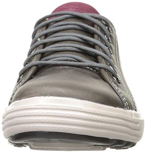 Skechers Porter-Ressen, Zapatillas de Deporte para Hombre GRY