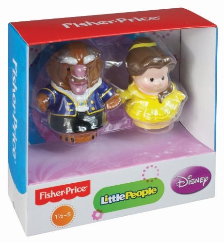Pricing People: Fisher-Price Little People Disney Princess Belle And Beast