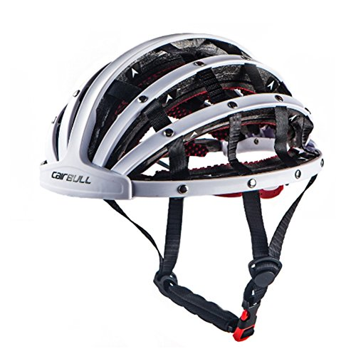 SimingD Cycling Bike Helmet for Men Women, Foldable Helmet Lightweight Adjustable Bicycle Helmet