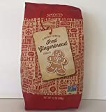 Sprouts Farmers Market Gingerbread Men Frosted Sugar Cookies & Trader Joes Autumn Apple Rooibos Tea. Perfect Combination for That Christmas, Hanukah or Any Holiday. ( 2 Items)