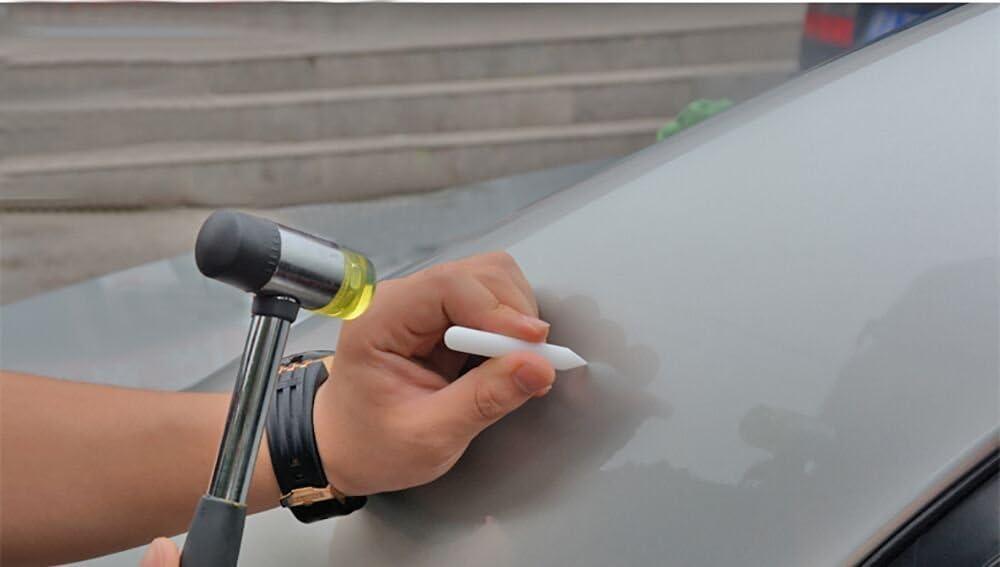 weylon Dent Nylon Nuove Penne Paintless Dent Strumenti di riparazione per auto PDR Strumenti in gomma martello w//tap Down Ding Kit