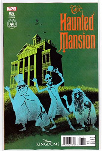 Haunted Mansion #2 (2016) Exclusive Disney Parks Variant