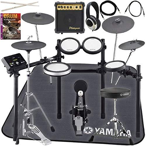 [セット品] 電子ドラム6点セット (YAMAHA DTX562KUPGS、スティック、ヘッドフォン、アンプ、ドラムマット、教則DVD)   B07V3SG48T
