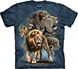 The Mountain Lion Collage T-Shirt, XX-Large, Blue