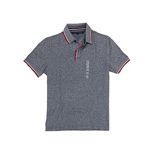 Tommy Hilfiger Men's Mesh T-Shirts, Large, Grey