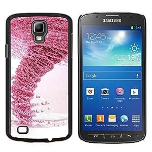 TECHCASE---Cubierta de la caja de protección para la piel dura ** Samsung Galaxy S4 Active i9295 ** --Diseño Rosa Tornado