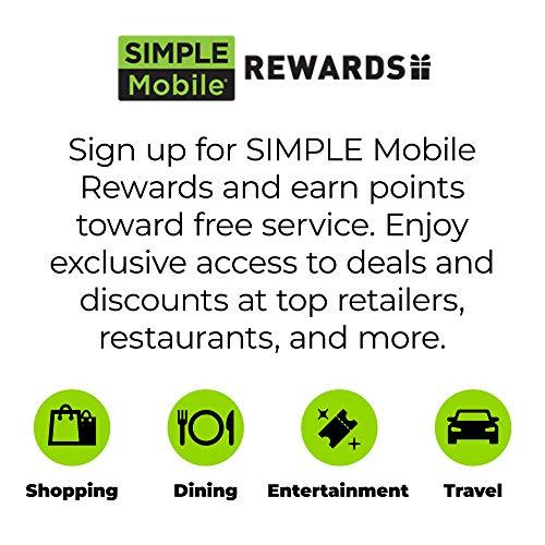 Simple Mobile Motorola Moto G6 4G LTE Prepaid Smartphone (Locked) - Black - 32GB - Sim Card Included - GSM