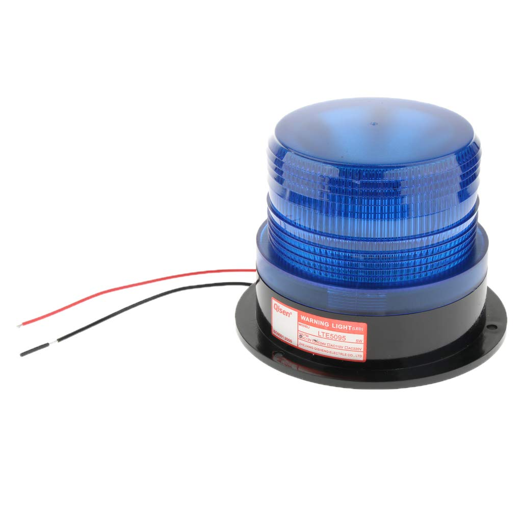 Orange Car Magnetic LED Emergency Beacon Flash Strobe Warning Light Bulb 4 Colors