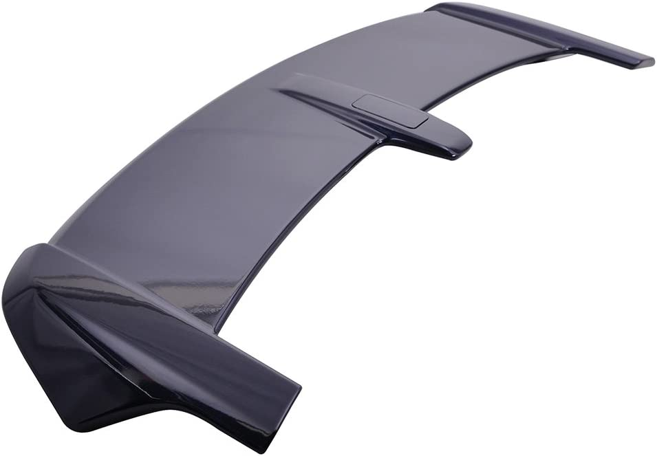 Trunk Spoiler Compatible With 2007-2011 Honda Crv 2008 2009 2010 Factory Style ABS Primer Matte Black Rear Deck Lip Wing Bodykits by IKON MOTORSPORTS