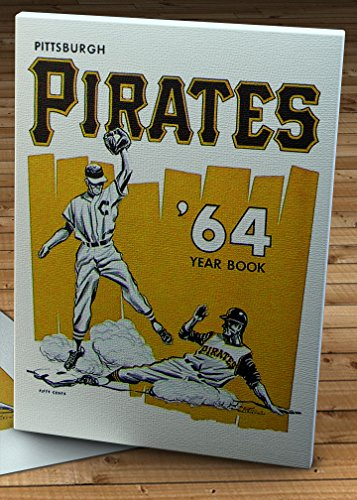 1964 Vintage Pittsburgh Pirates Yearbook - Canvas Gallery Wrap - 11 x 14
