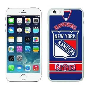 New York Rangers iPhone 6 Cases 4 White65725_58732-iphone 6 cover,case for iphone 6-gold case for iphone 6