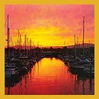 Gift Trenz Marina At Sunrise Magnetic Bookmark