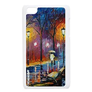 wugdiy DIY Case Cover for iPod Touch 4 with Customized Art Painting