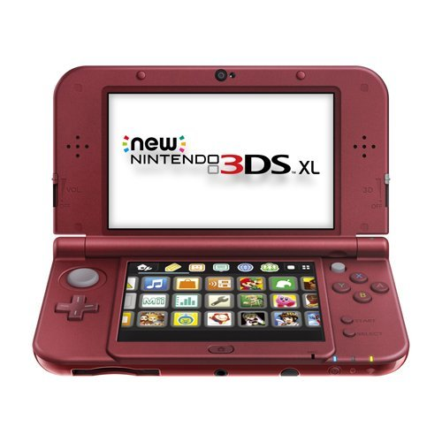 New Nintendo 3DS XL - Red (Renewed) (Nintendo 3ds New Red)