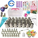 Best Decoration Tips - 50 Pcs Russian Piping Tips Set with Storage Review