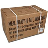 ULTIMATE MRE, July 2017 and up Inspection Date Meals Ready-to-Eat, Case of 12 Genuine US Military Surplus with Western Frontier's Inspection and Guarantee.