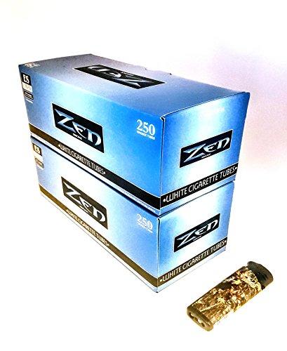 2 pack Zen Tubes King FREE Camo LED Torch Lighter (Blue) (Best Ultra Light Menthol Cigarettes)