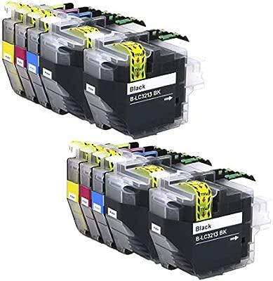 INKMAKE 5PK LC3213 Cartucho de Tinta remanufacturado para ...