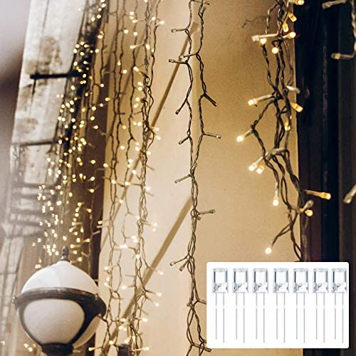 LED 5 mm Christmas String Lights Replacement Bulbs Energy Efficient LED Christmas Wire Light Set Connectable Home Decor Light Bulb for Patio Garden Wedding Holiday (60, Clear)