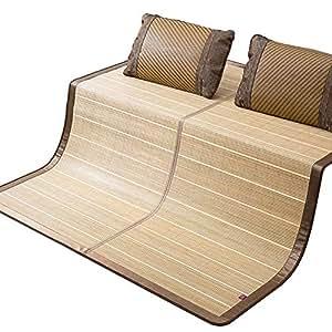 Amazon.com: WYLF - Colchoneta de verano refrescante, bambú ...