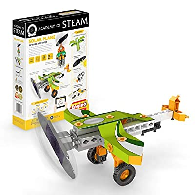 Engino - Academy of Steam Toys   Inertia & Energy Conversion: Newton's Law of Motion & Academy of Steam Toys   Solar Plane: Harnessing Solar Energy: Toys & Games