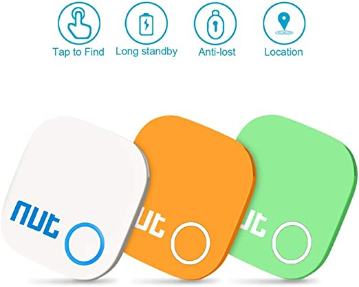 Anti-Lost Key Finder Locator GPS Bluetooth Smart Tracker for Find Wallet Phone Item Finder Lost Keys Finder Compatible for iOS//Android Key Finder 2 Pack Pets Bags and Glasses