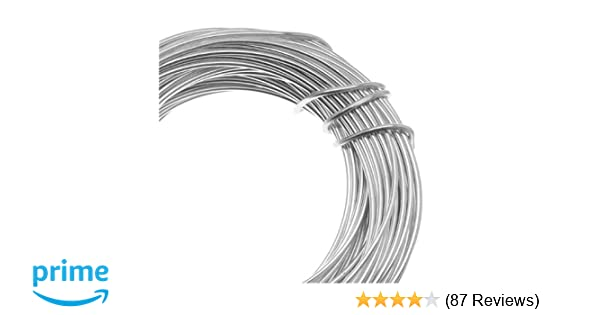 57ff8a0fc94ef Amazon.com  Beadsmith 18-Gauge Aluminum Craft Wire