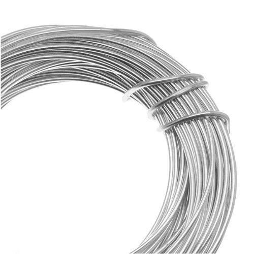 Beadsmith 18 Gauge Aluminum 39 Feet Silver