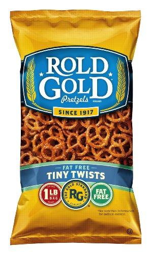 Rold Gold Classic Tiny Twist Pretzels, 16 Ounce Bag