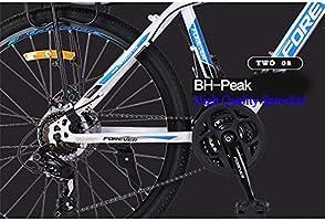 PXQ Adultos Bicicleta de montaña 26 Pulgadas de Alto Carbono ...
