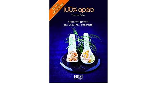 Petit Livre de - Lapéro en 140 recettes (LE PETIT LIVRE) (French Edition)