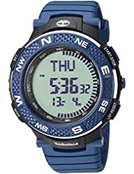 Timberland Mens TBL15027XPBBU04P MENDON Digital Display Analog Quartz Blue Watch