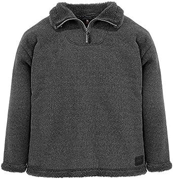 FHB Fur Fabric-Half-Zip Sweaters Robert Anthracite