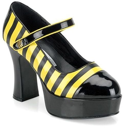 UMM 569600 Tama-o 8 del zapato del zumbido 66 - Negro / Amarillo