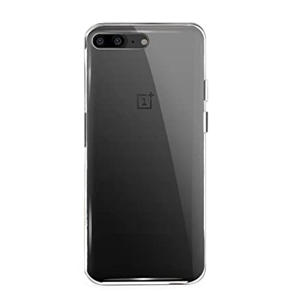 newest 07c8a ff88b Mobilix Soft Transparent Back Cover for OnePlus 5