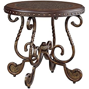 Amazoncom Ashley Furniture Signature Design Rafferty End Table