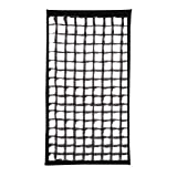 Westcott 2473 40-degree Egg Crate Grid for Apollo Strip (Black)