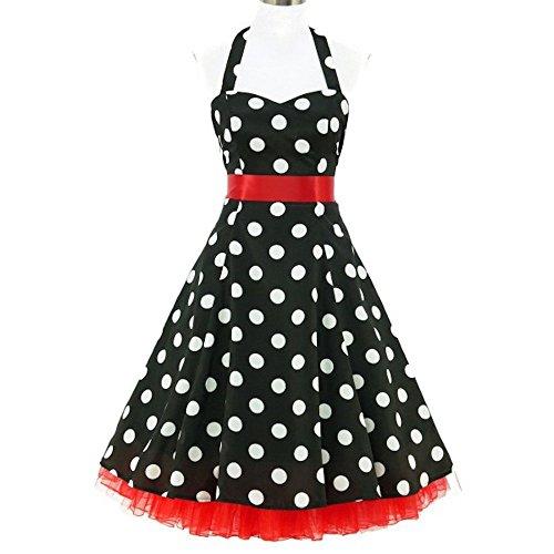 50años de Rockabilly Vestido Incluye Petticoat–Chloe