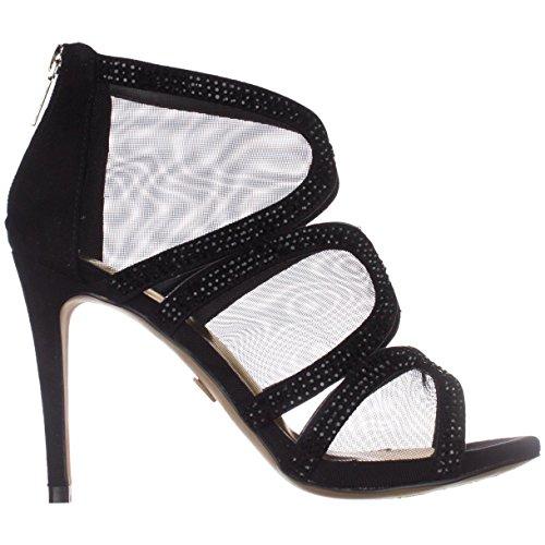 Sodi Classic Toe Thalia Fabia Womens Open Black Pumps 7dwWf1xq