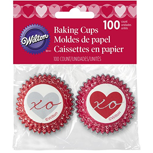 Wilton Heartfelt Valentine Mini Baking Cups