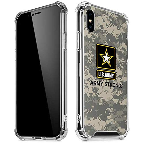 new arrival 31e3d 7fc54 Amazon.com: Skinit US Army Digital Camo iPhone X/XS Clear Case ...