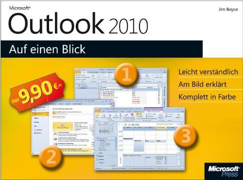 Microsoft Outlook 2010 auf einen Blick Gebundenes Buch – 22. September 2010 Jim Boyce 3866458746 978-3-86645-874-1 MAK_VRG_9783866458741