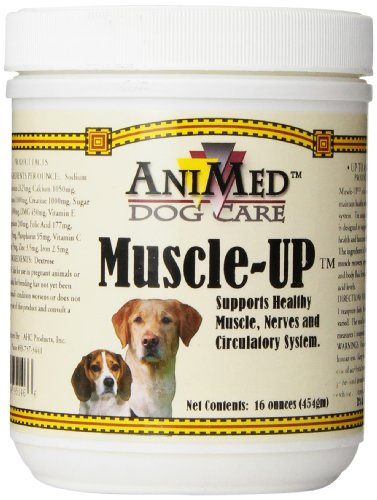 AHC Products Muscle Up Powder for Dogs, 16-Ounce (Best Muscle Building Supplements For Dogs)