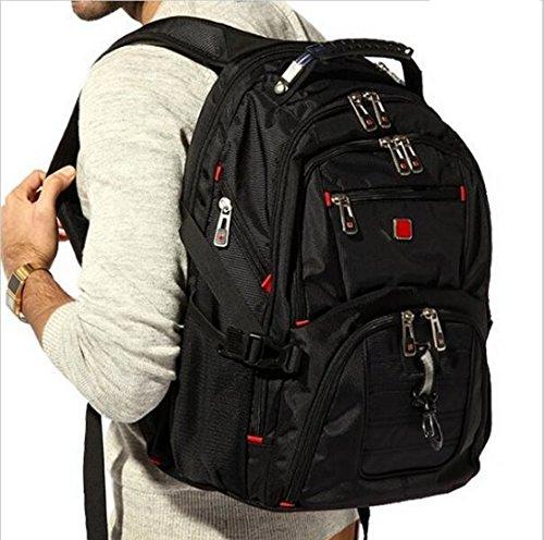 Gents Swiss - Swiss bag Men Women Laptop Backpack Computer Outdoor School Army Travel Bag 2019