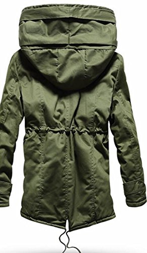 UK Jackets Coats today 2 Drawstring Parka Mens Outwear Padded Hoodie gxxfnq1d