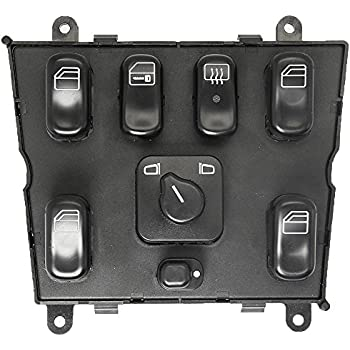 New Electric Power Window Master Control Switch for 1998-2003 Mercedes Benz ML320 ML430 ML55 AMG ML500 # 1638206610